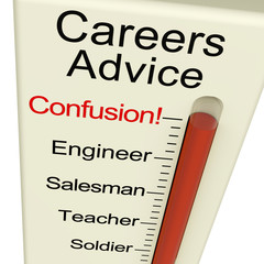 Careers Advice Monitor Confusion Shows Employment Guidance And D