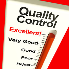 Quality Control Excellent Monitor Showing Satisfaction And Perfe