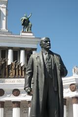 VVC, Main pavillion and Lenin monument