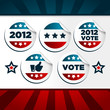 Patriotic Voting Stickers