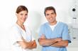 Zwei glückliche Ärzte
