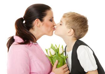 mutter und sohn Muttertag