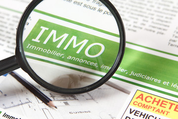 Immobilier titre de journal