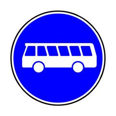 Verkehrsschild - 245 Linienomnibusse