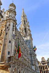 Building on the grand place.