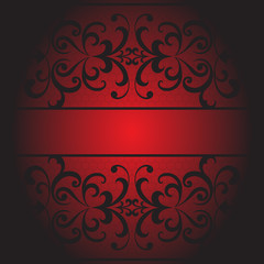 Lace seamless background