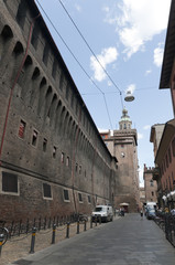 Fortified Building in Bologna Italy