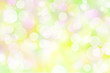 pastel colored spring bokeh lights effect background