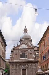 Domed church in Modena Italy