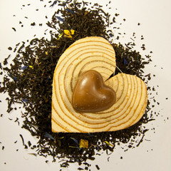 Tea, chocolate and love !