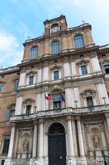 The Ducal Palace in Modena Italy