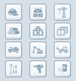 Construction icons | TECH series