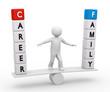 career-family-balance 3d