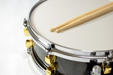 Snare Drum and Stick