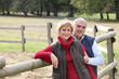 Couple on ranch