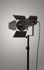 Monoblock of professional studio lighting