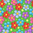 Flowery seamless background 1