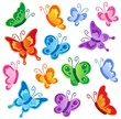 Various butterflies collection 1 - 38188684