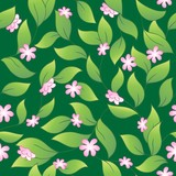 Flowery seamless background 2