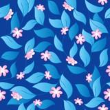 Flowery seamless background 3