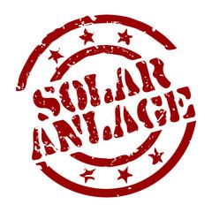 stempel solaranlage I