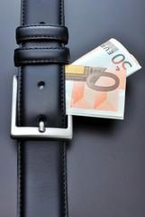 Banconote nella cintura