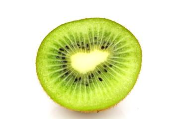 Isolated Kiwi Fruit