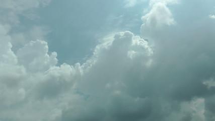 Beautiful cloud timelapse