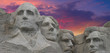Sunset Colors over Mount Rushmore