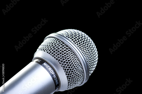Microphone the silvery membrane