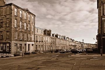 Panoramic view of Albany Street, Edinburgh