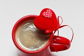 coffee on valentine day