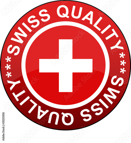 BUTTON SWISS QUALITY
