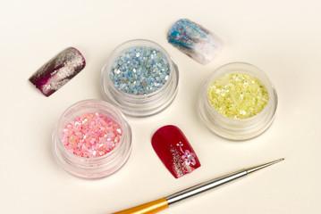 Nail glitter