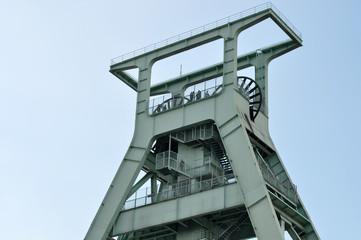Förderturm im Bochum