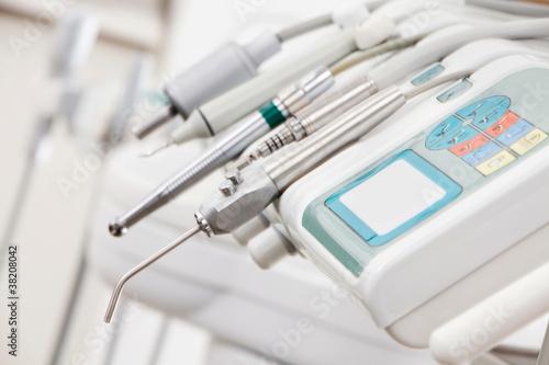 Fototapeta Instrumente beim Zahnarzt