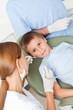 Junge bei Zahnbehandlung