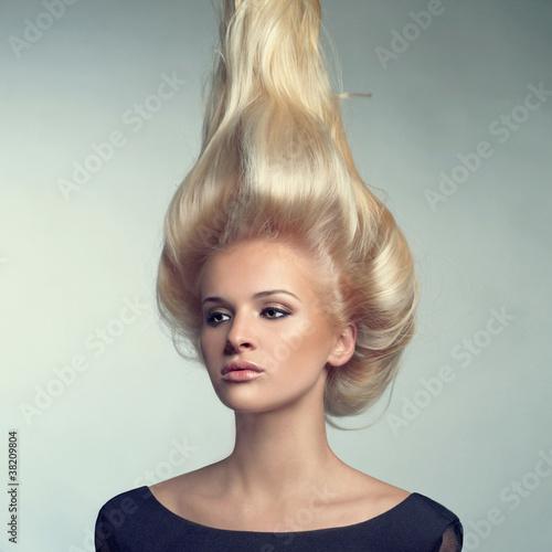Papiers peints Akt Beautiful lady with blond hair