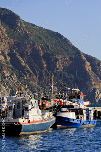 Fishing trawlers - portrait