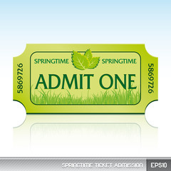 Springtime ticket admission