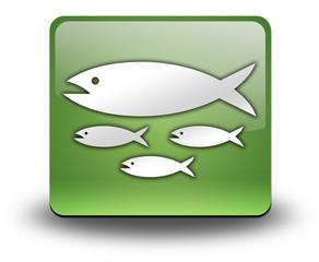 "Green 3D Effect Icon ""Fish Hatchery"""