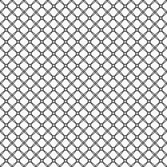 Vector illustration of an abstract seamless patterns on white ba