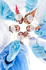 Group of dentists