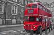 Bus rouge typique - Londres (UK)