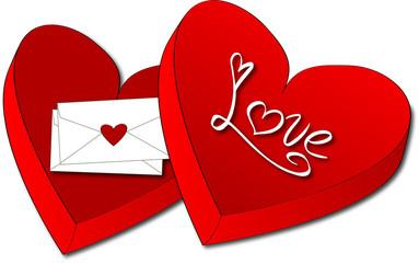 scatola - amore - san valentino - love