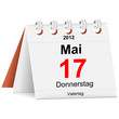 Kalender - 17.05.2012 - Vatertag
