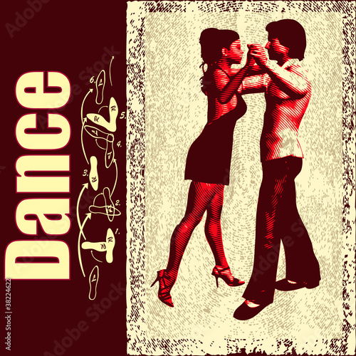 Ballroom Dance Flyer/Background
