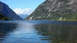 Norway fjord view