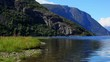 Norway fjord panorama
