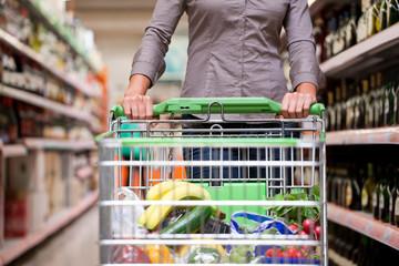 Female Customer Shopping